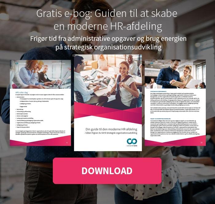 Gratis e-bog: Guiden til at skabe en moderne HR-afdeling