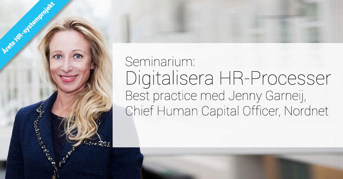 Digitalisera HR-Processer
